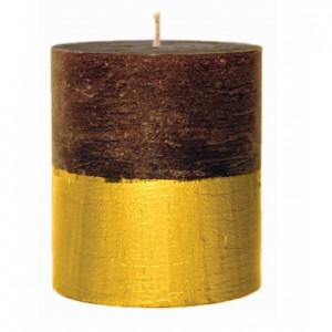Embers Gold Dipped Candle