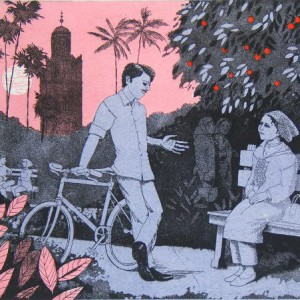 FWEvening-in-the-orange-garden-2etching-with-relief_web