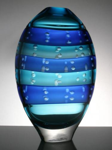 Hand Blown Glass Vase 'Joom'