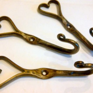 Forged Iron Heart Hook