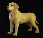 Golden Labrador Dog Sculpture