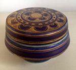 Mary Rich blue lidded pot