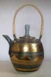 Porcelain tea pot by Mary Rich