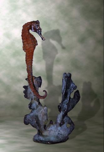 Bronze Seahorse