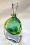 Hand blown glass scent bottle