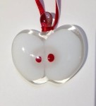 Fused Glass Apple