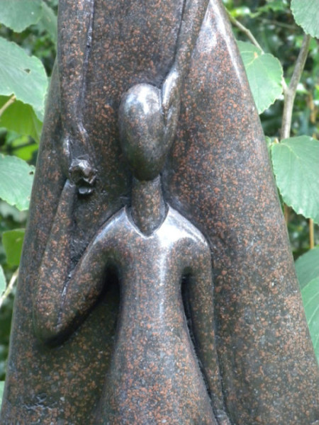 Stone resin sculpture