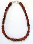 Necklace in Sponge Coral