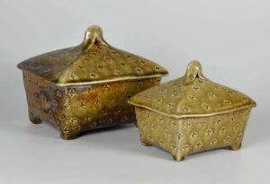 Wood fired salt glaze pottery