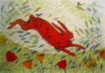 Giclee Print 'Hare and Crows'