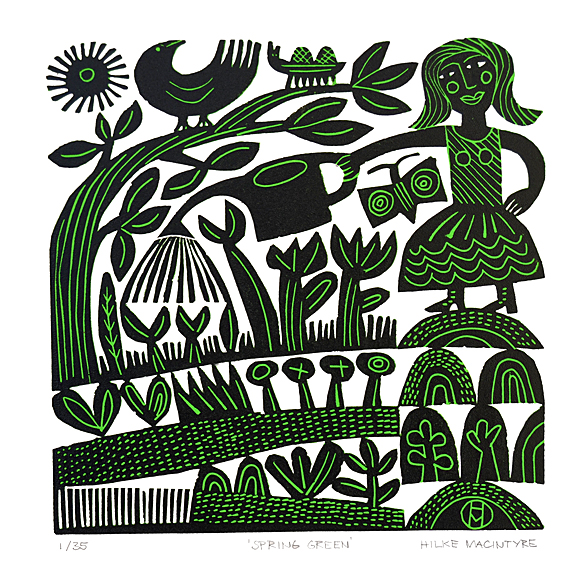 Limited Edition Lino Cut