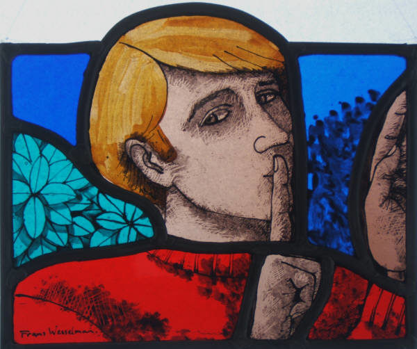 Stained Glass Quiet Man