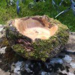 Copper hare Bowl in Maple