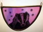 Stained Glass Badger
