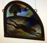 Stained Glass Tiny Hare