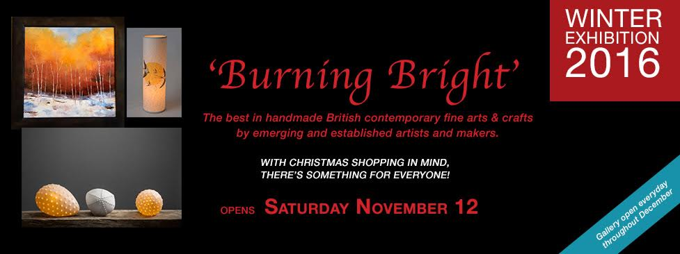 Winter Exhibition 'Burning Bright'