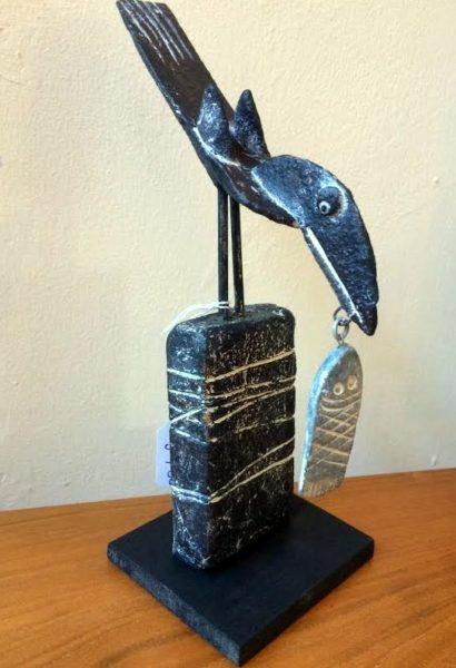 John Maltby - Bird, Fish, Wall ll