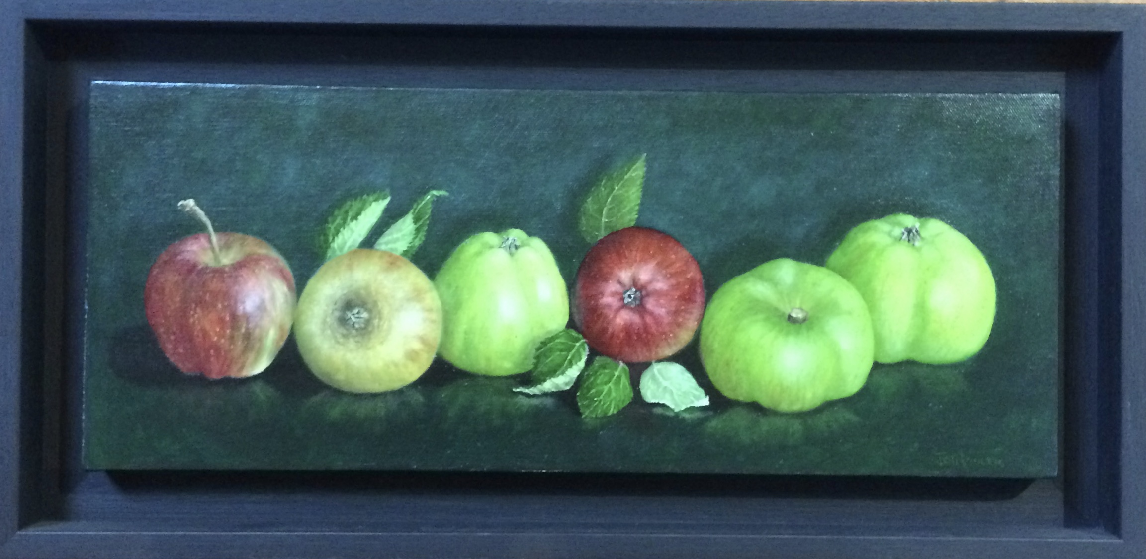 Still Life in oils on canvas