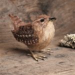 Tiny Wool Wren Sculpture