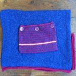 Calypso Tunic in Silk and Lambs' Wool One Size