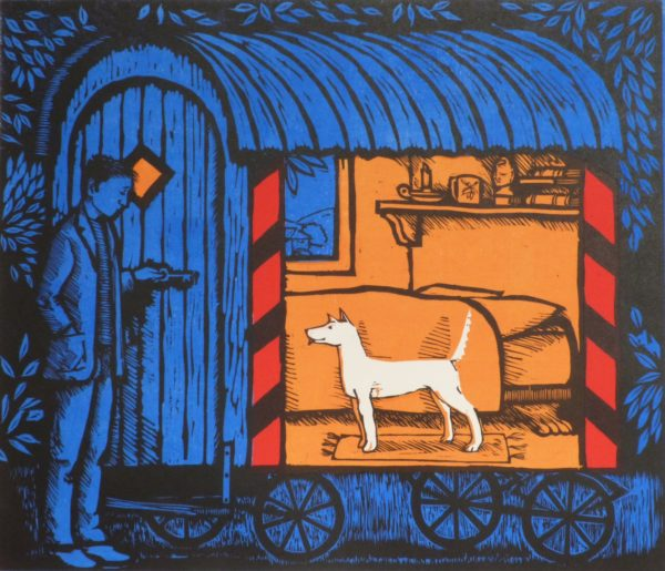 Limited Edition Woodcut 'Coming Home'
