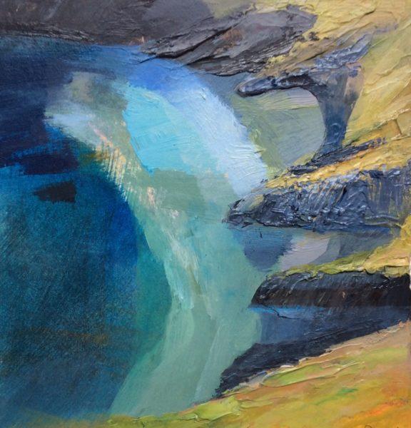 'New' Acrylic Original 'Quiet Cove'