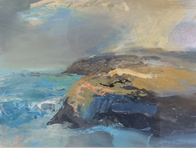 'New' Acrylic Original North From St David's Head