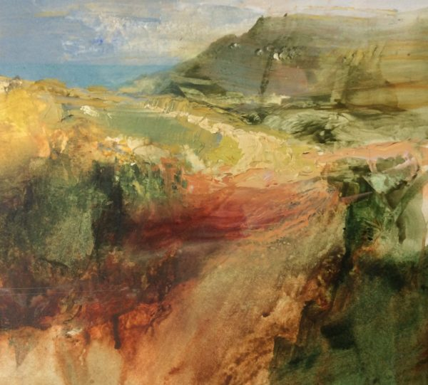 'New' Acrylic Original Coastal Path
