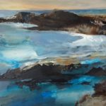 Acrylic original Caerfai Sea Swell