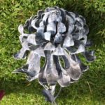 Forged Iron Chrysanthemum