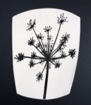 "Ceramic Wall Mounted ""Cow Parsley ll"" Porcelain"