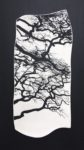 """Ceramic Wall Mounted Porcelain """"Entwined"""""""