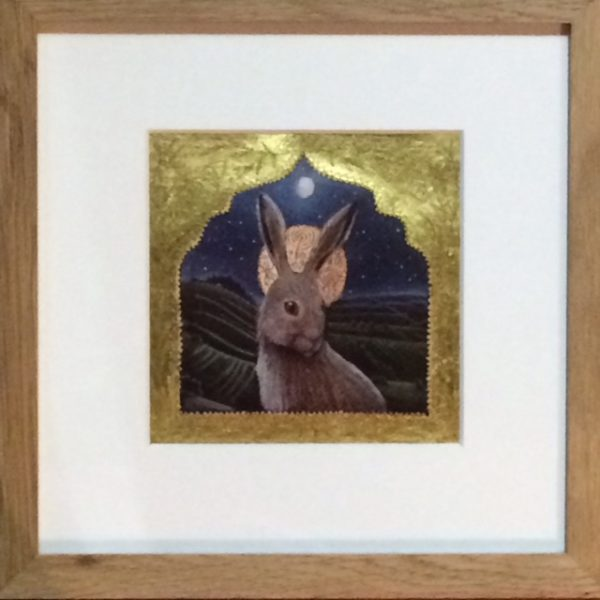 Hand Gilded Limited Edition Print High On The Hill