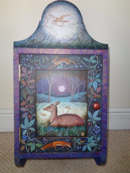 Hand painted cupboard 'Serenity'