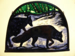 Stained Glass Panel 'The Hunt'