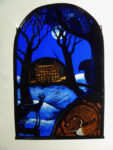 Stained Glass Panel. 'In The Still Of Winter'