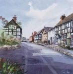 Original Watercolour 'Looking up West Street, Pembridge'