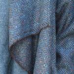 New Edy Coat in Harris Tweed Herringbone