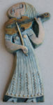 Ceramic Relief Violin
