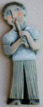Ceramic Relief Tin Whistle