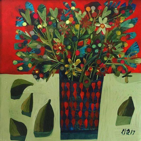 Acrylic on linen canvas Little Joy