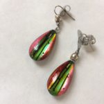 Acrylic Drop Earrings Candyfloss