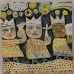 Ceramic  Relief  Three Kings