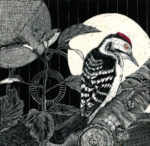Original Scraper-Board Woodpecker