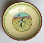 Earthenware Open Bowl Swallows