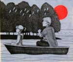Limited edition etching by Frans Wesselman