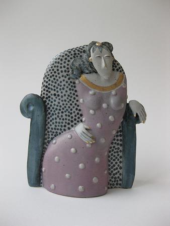 Ceramic sculpture Dreaming