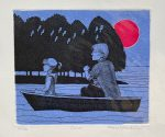 Limited edition etching - Canoe