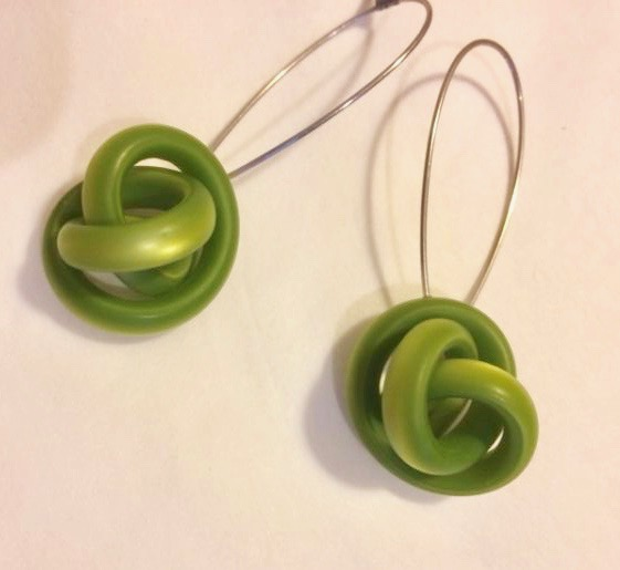 Cellulose Acetate Drop Earrings Moxie