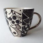 Vertical Stripe Mug